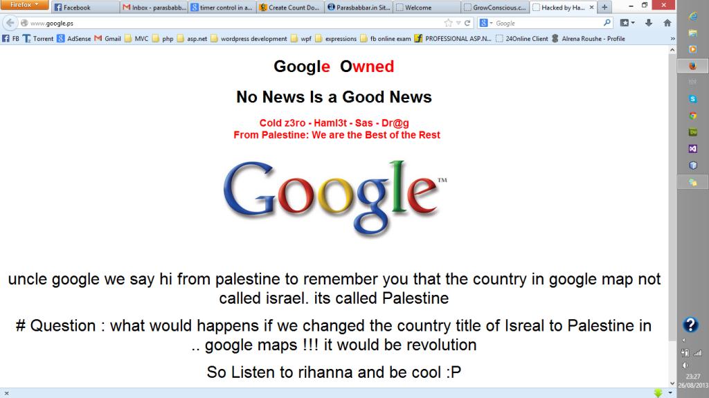 googlehacked