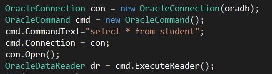 oracle database code